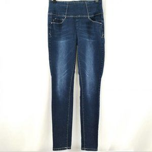 YMI High Waisted Jeans Back Zip Juniors Stretch